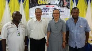Fr Simeon Nwobi, Fr General, Sr Anna, Fr Emmanuel Edeh