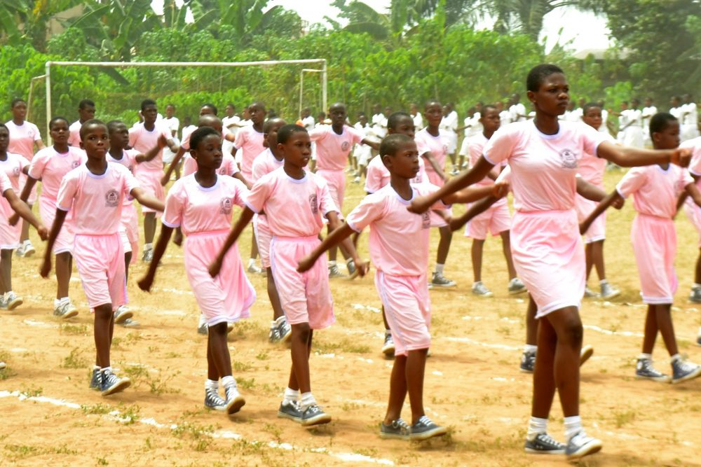 Claret Sec Sch Nekede holds her 2nd Inter House Sports Competitions
