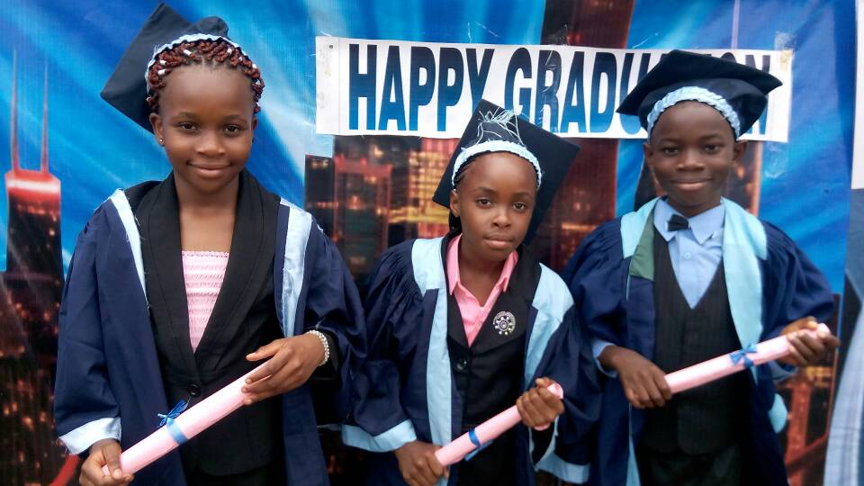 2017 Graduation Ceremony of Claret Academy Nur/Pri School World Bank.
