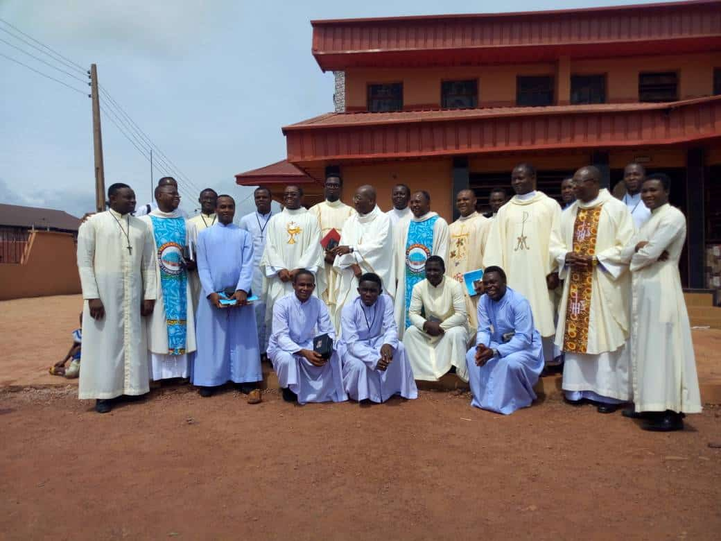 East Nigeria Claretians Celebrate the Feast of the Immaculate Heart of Mary.
