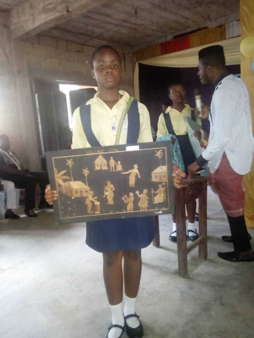'GIFTED HANDS': Claret Academy Secondary School Owerri Celebrates Culture and Art Exhibition Day