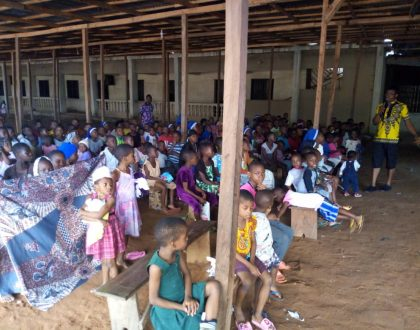 SOMI Team and St Paul Church Nekede Organise Free Holiday Education Programme