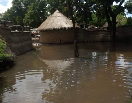 SOS Claretian Mission:  Flood Submerge Two Villages in Sarh Chad