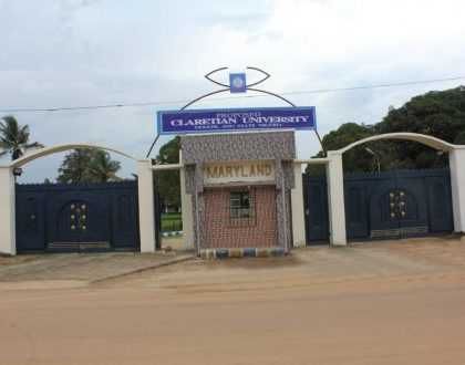 Claretian University of Nigeria Approved