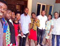 Fr Paul with the Youth Executives