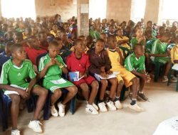 Enthusiastic students of Claret Academy Garikki Enugu