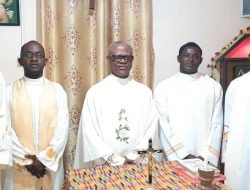 The Participants with the Provincial Vicar